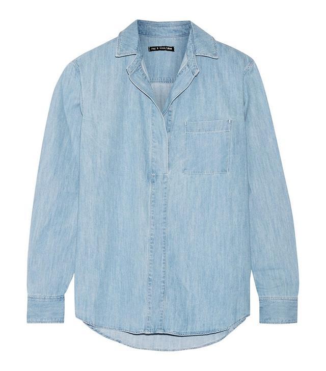 Rag & Bone Leeds Denim Shirt