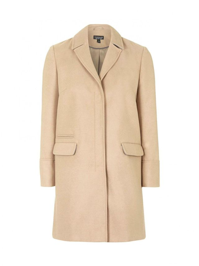 Topshop Slim Pocket Coat
