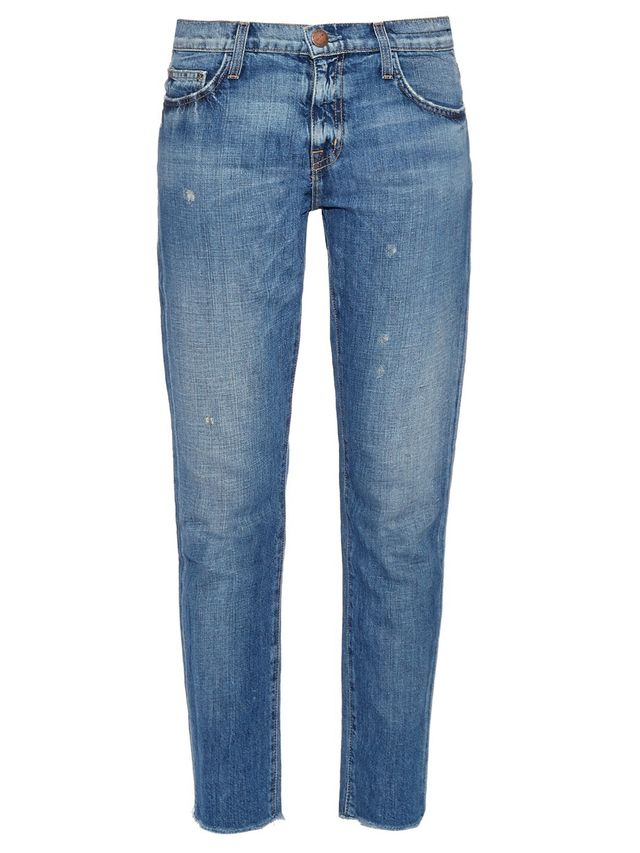 Current/Elliott The Fling Low-Slung Jeans