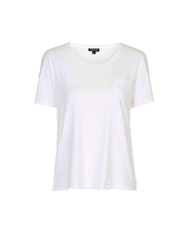 Topshop Basic Pocket Tee