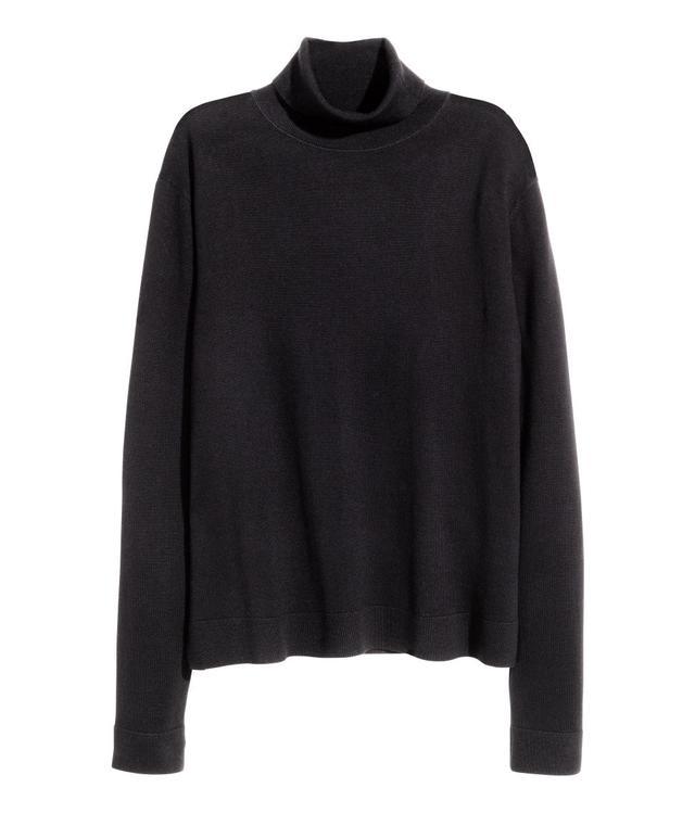 H&M Fine Knit Polo-Neck Jumper