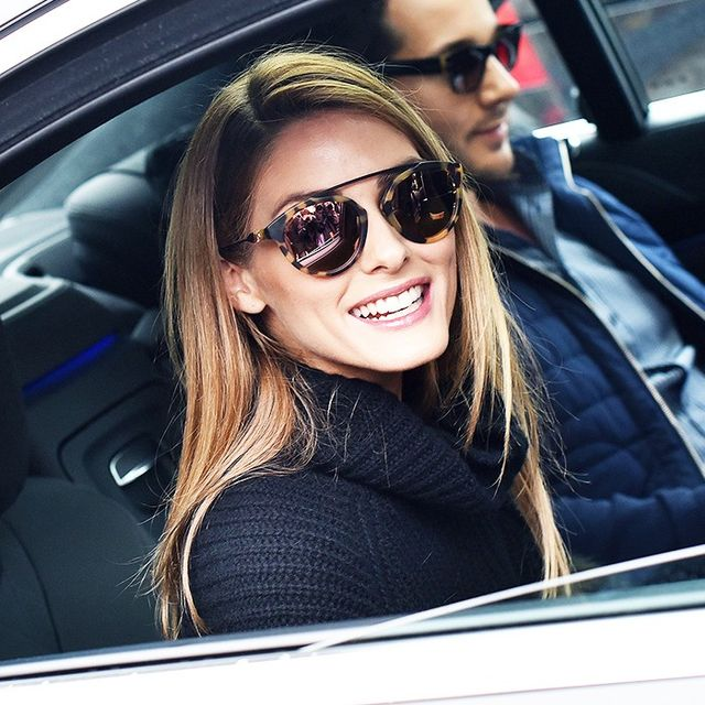 Of Course Olivia Palermo Made the Chicest Arrival to Couture Week