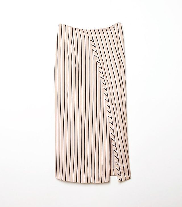 Acne Studios Karlis Stripe Skirt
