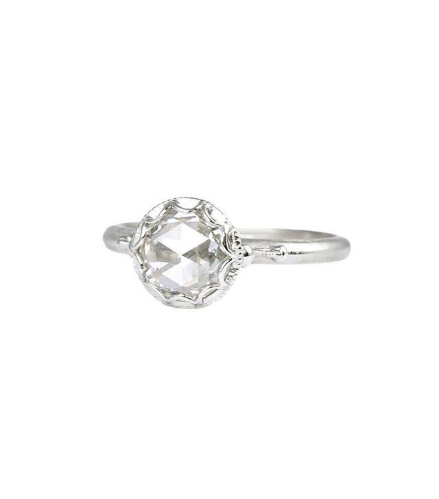 Megan Thorne Scalloped Bezel Ring