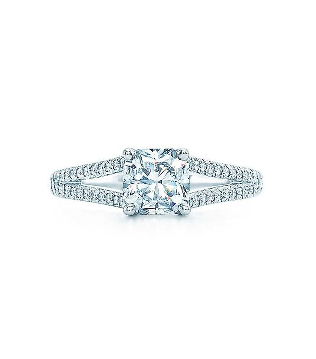 Tiffany & Co. Lucida with Diamond Band