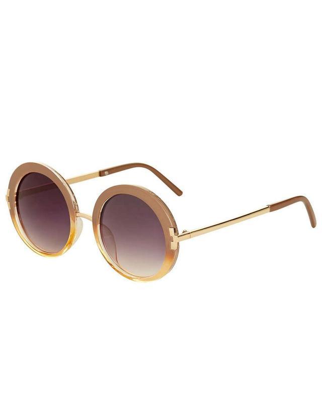 Topshop Lakota '60s Round Sunglasses