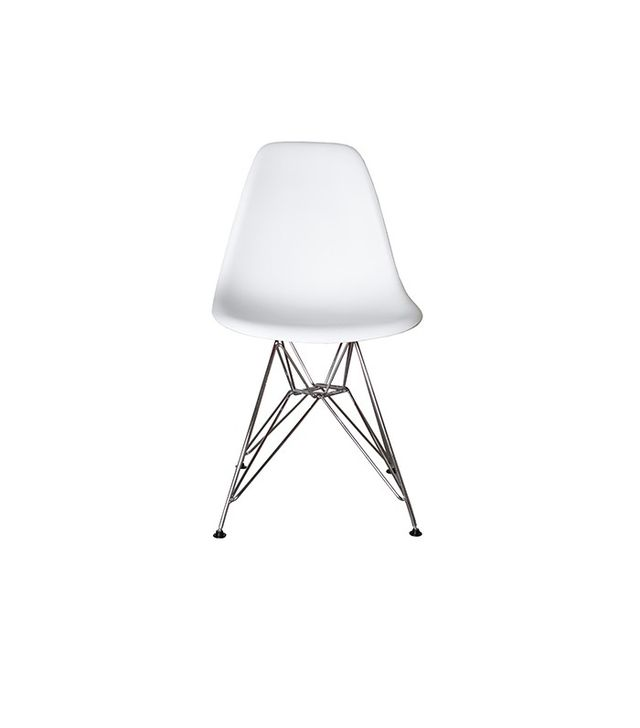 Laura Davidson Furniture Set of 2 Eiffel Molded Plastic Dining Chairs