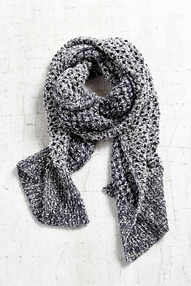 Urban Outfitters Open Lattice Knit Scarf