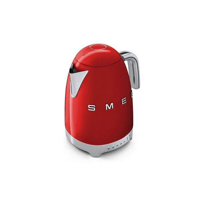 Smeg 1.7L 50's Retro Style Aesthetic Electric Kettle - Red