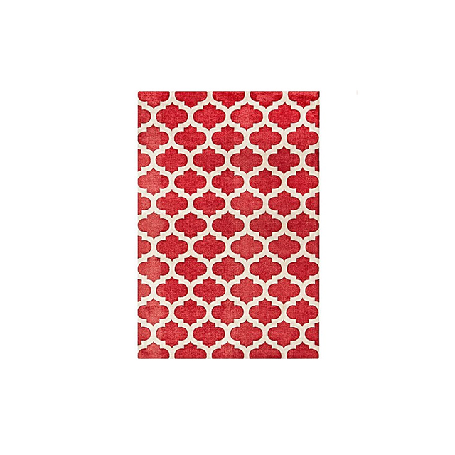 Rug Republic Antique Red Lattice Modern Rug