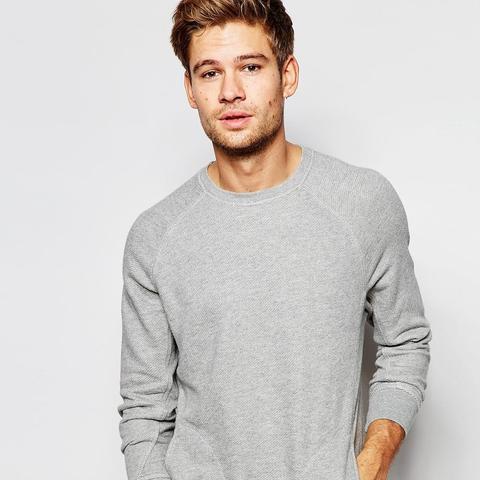 Sweatshirt With Raglan Sleeve