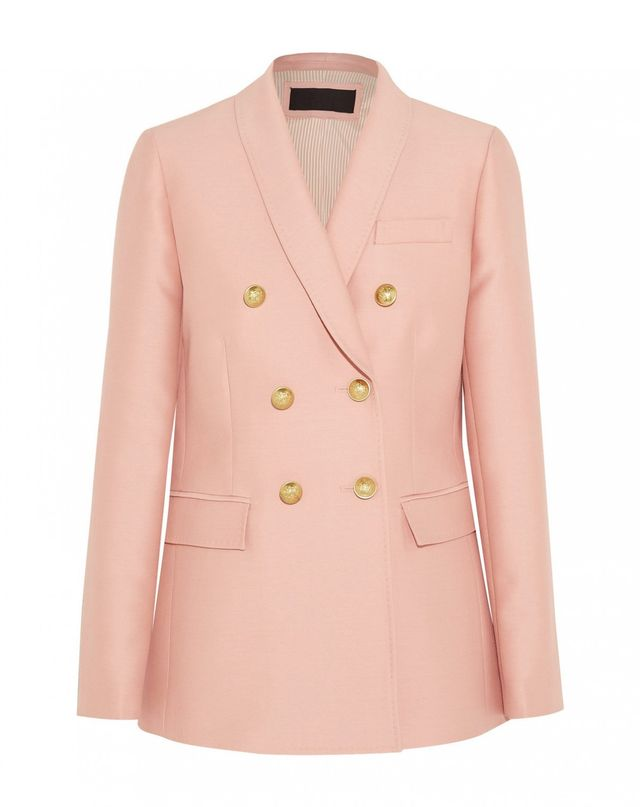 J.Crew Irene Wool and Silk-Blend Blazer