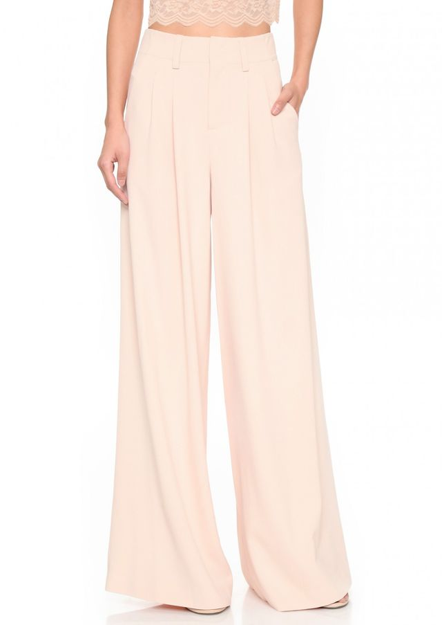 Alice + Olivia Eloise Wide Leg Trousers