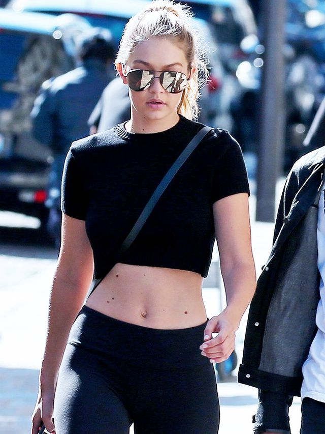 There are, of course, a few It girls that we turn to for style gymspiration—Gigi Hadid's althleisure look being way up there. We've already covered how to emulate her look because...