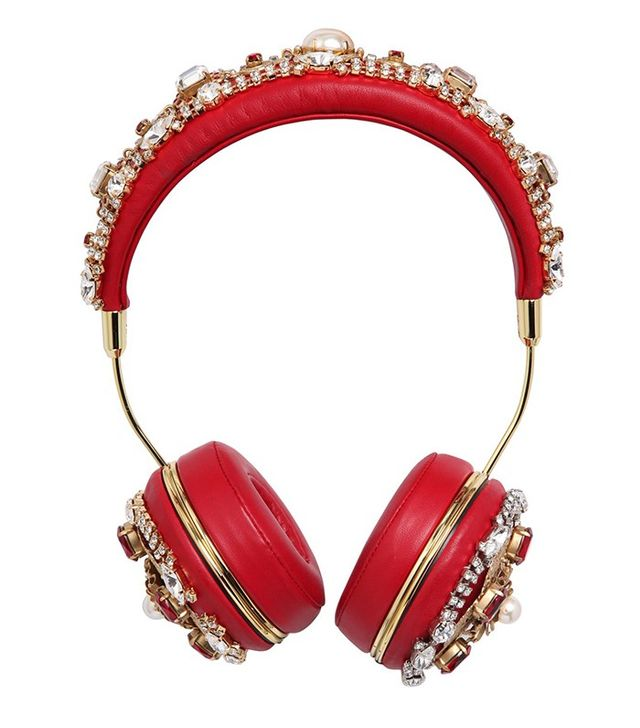 Dolce & Gabbana Frends Embellished Headphones