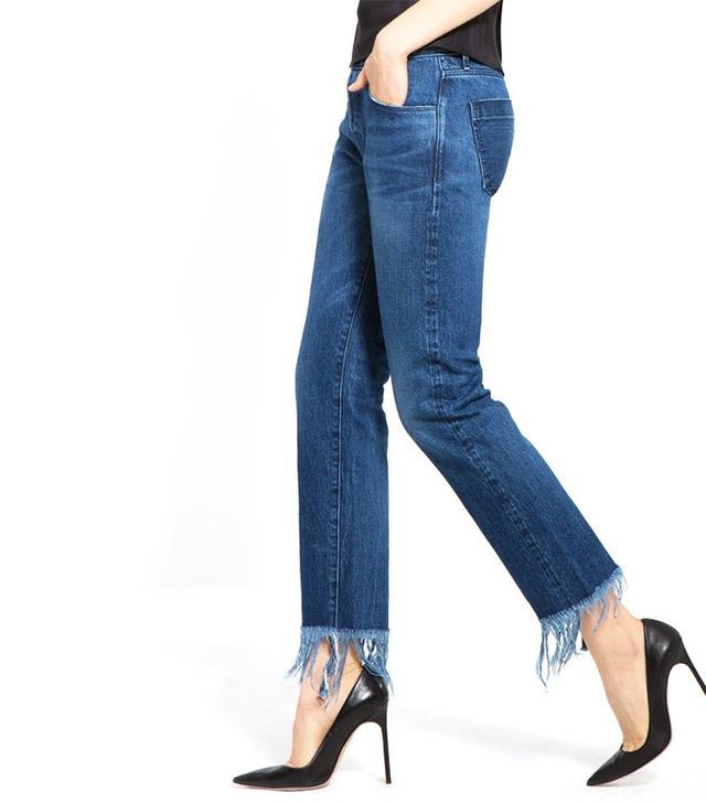 3x1 WM3 Crop Fringe Lima Jeans