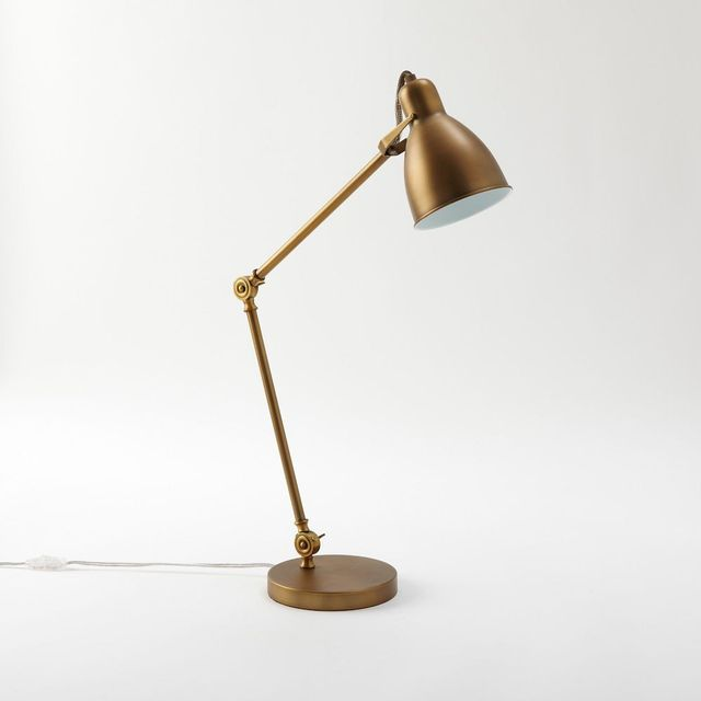 West Elm Industrial Task Table Lamp