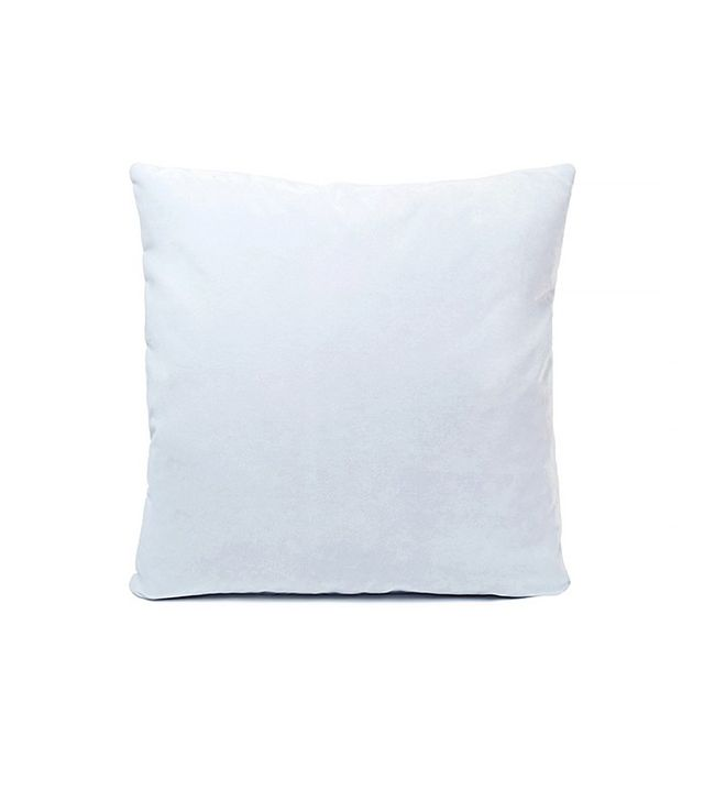 Consort Light Blue Velvet Pillow
