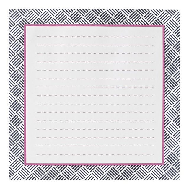 Johnathan Adler Jumbo Sticky Notes Square Pink
