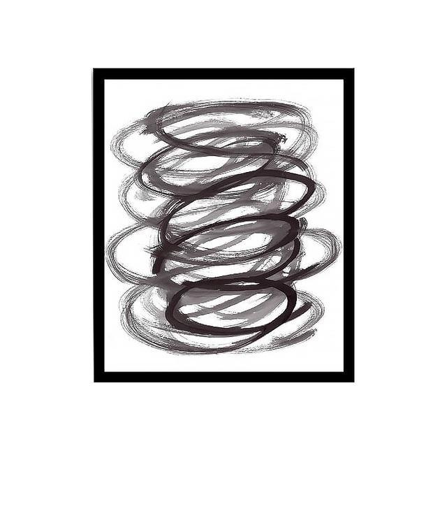 "West Elm ""Dance"" Framed Print"