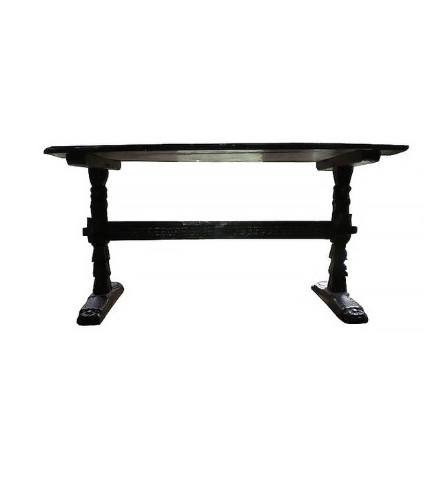 Kirby Antiques 17th Century Italian Walnut Trestle Table