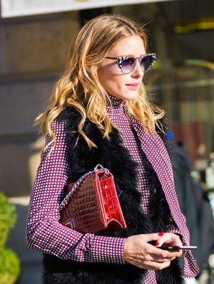The Olivia Palermo Way to Mix Prints