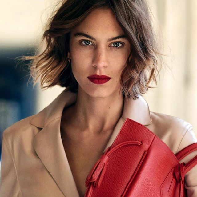 First Look: Alexa Chung for Longchamp S/S 2016