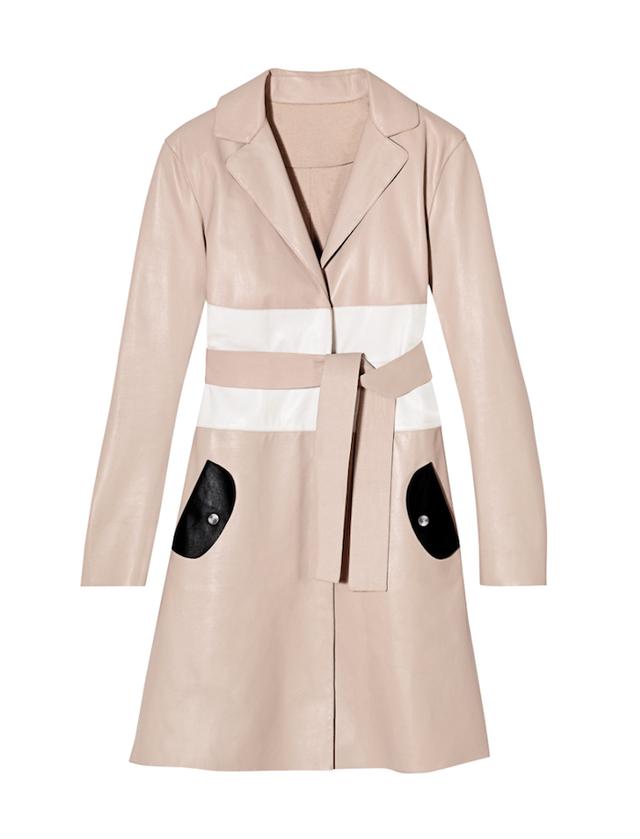 Longchamp Leather Coat