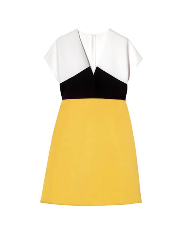 Longchamp 3 Fabric Dress