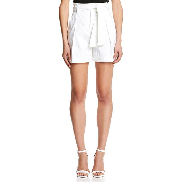 Scanlan Theodore Double Cotton Pleat Shorts