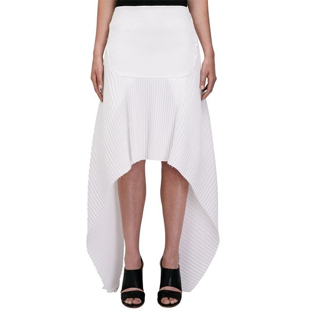 Christopher Esber Pleated Rib Bobbi Skirt