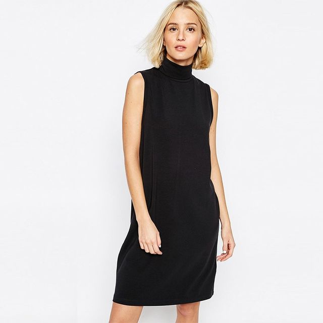 ADPT Longline Sleeveless Dress