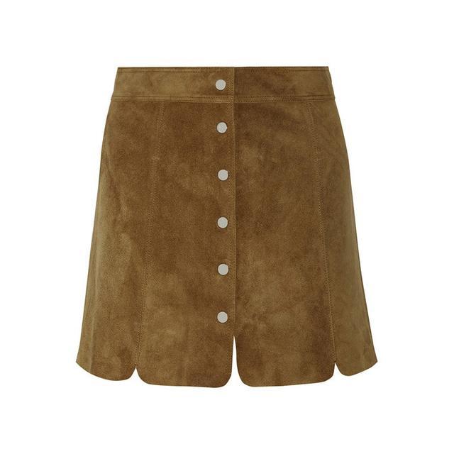 Isabel Marant Étoile Anna Suede Mini Skirt