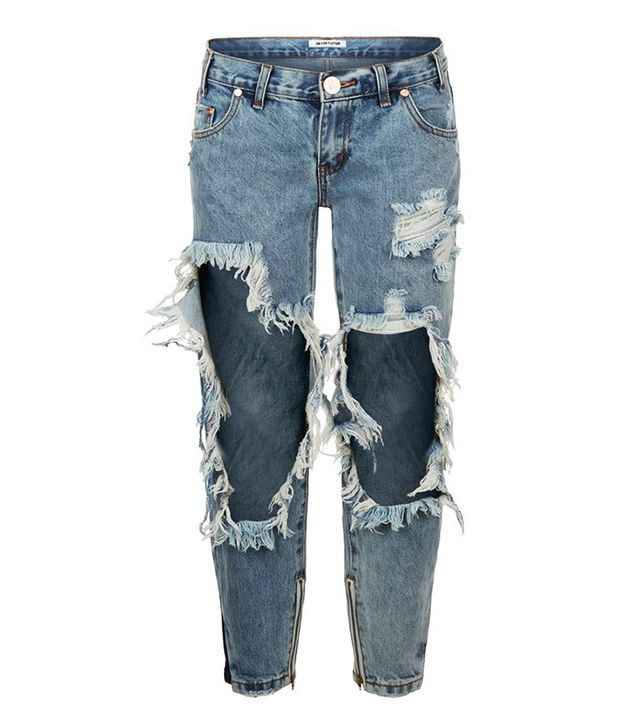 One Teaspoon Awesome Baggies Ripped Boyfriend Jeans