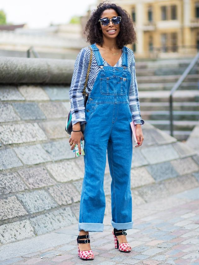 London Look #4: Dressed-Up Dungarees