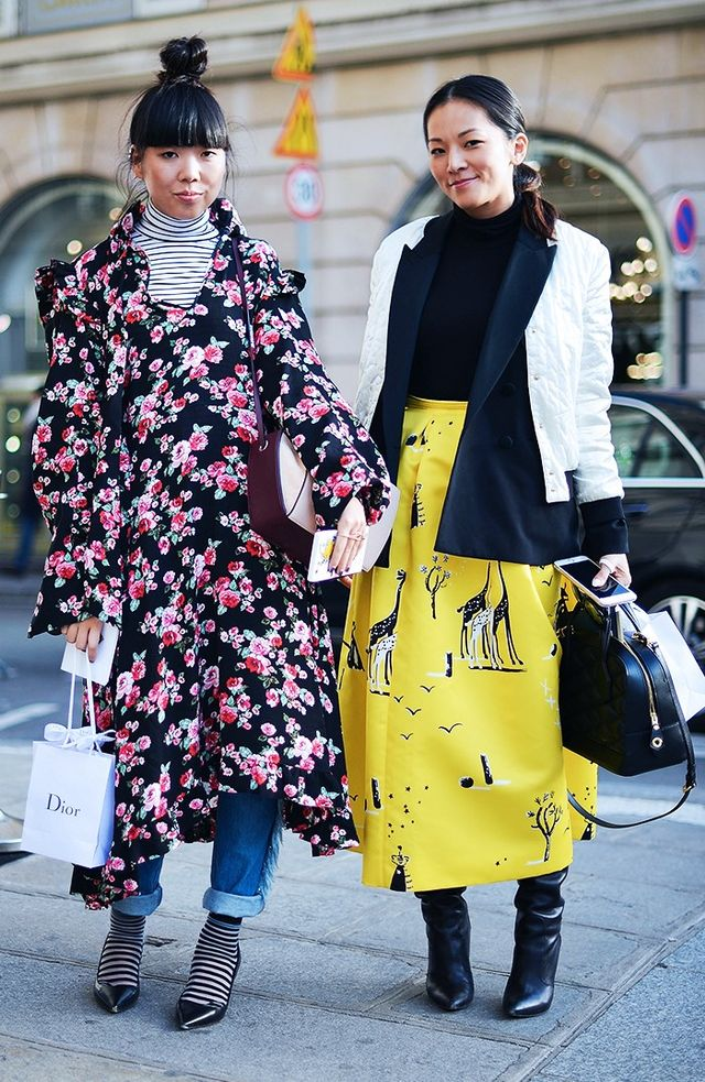On Susie Lau: Vetements Floral Dress(£1140).
