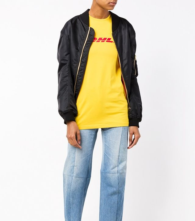 Vetements Stretch DHL T-Shirt