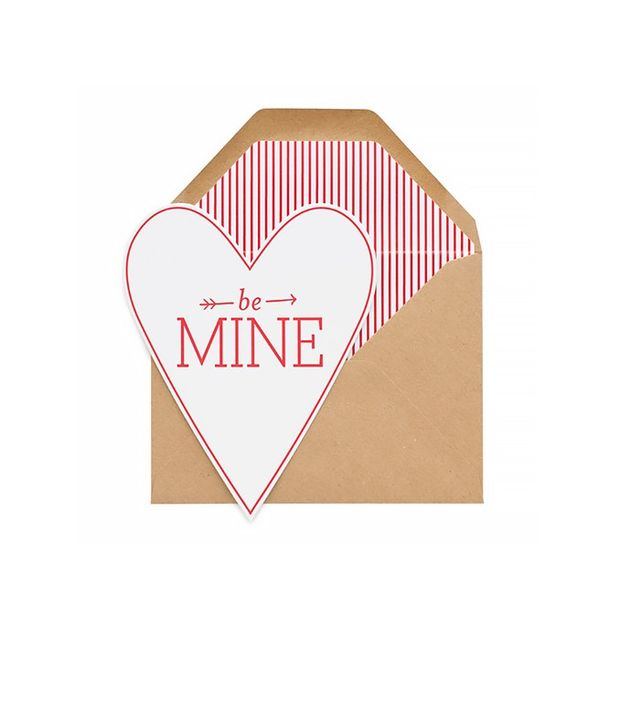 Sugar Paper Be Mine Heart Card
