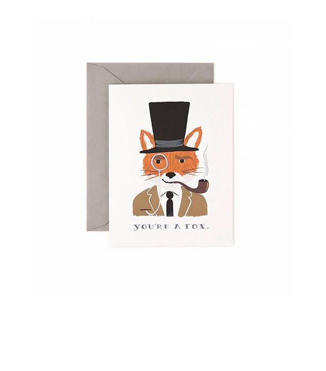 Rifle Paper Co. You're a Fox Card