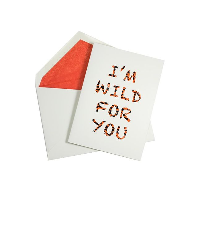 Mrs. John L. Strong I'm Wild for You Card