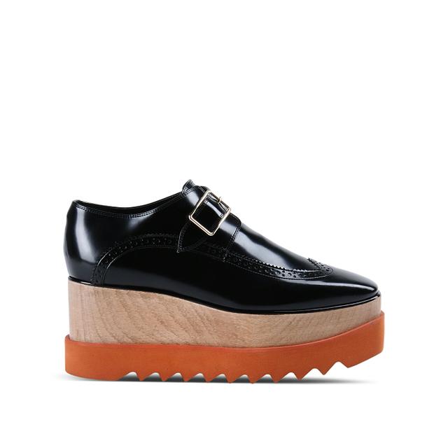 Stella McCartney Black Brogue Elyse Shoes