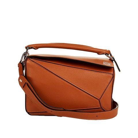 Puzzle Small Leather Bag