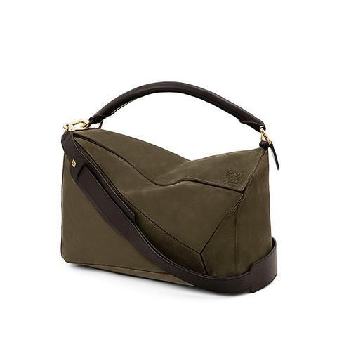 Puzzle Large Satchel Bag