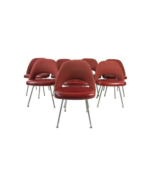 Eero Saarinen for Knoll Vintage Chairs Set of Eight