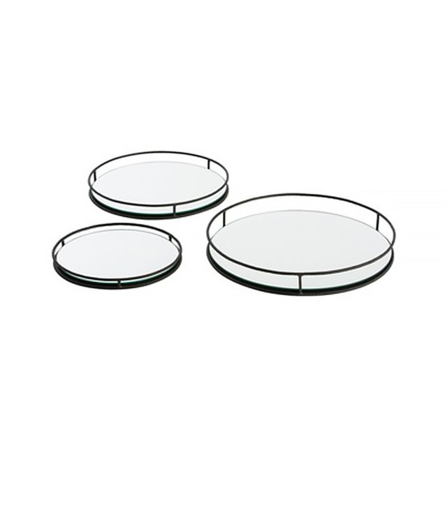 Consort Design Mirrored Trays