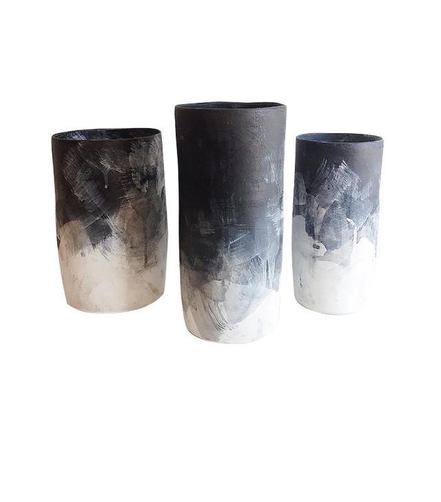 Sheldon Ceramics Ombre Cylinder Vase