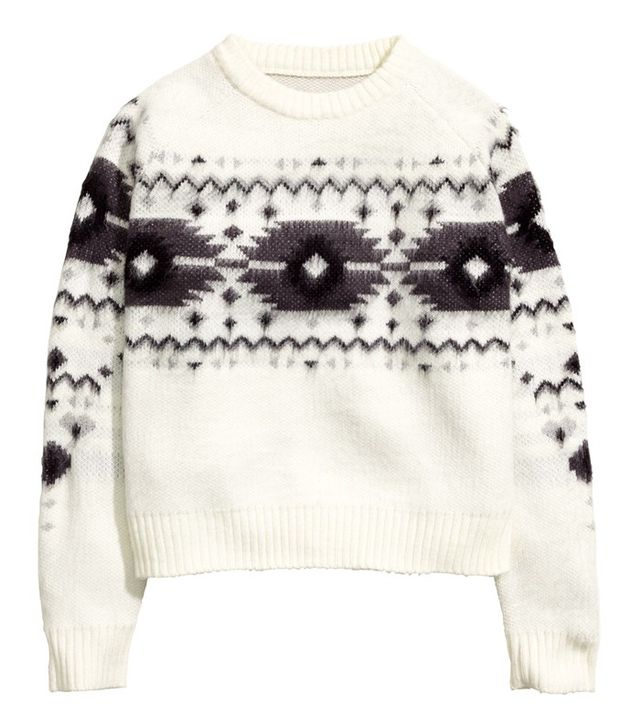 H&M Jacquard-Knit Sweater