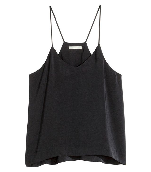 H&M Satin V-Neck Camisole Top