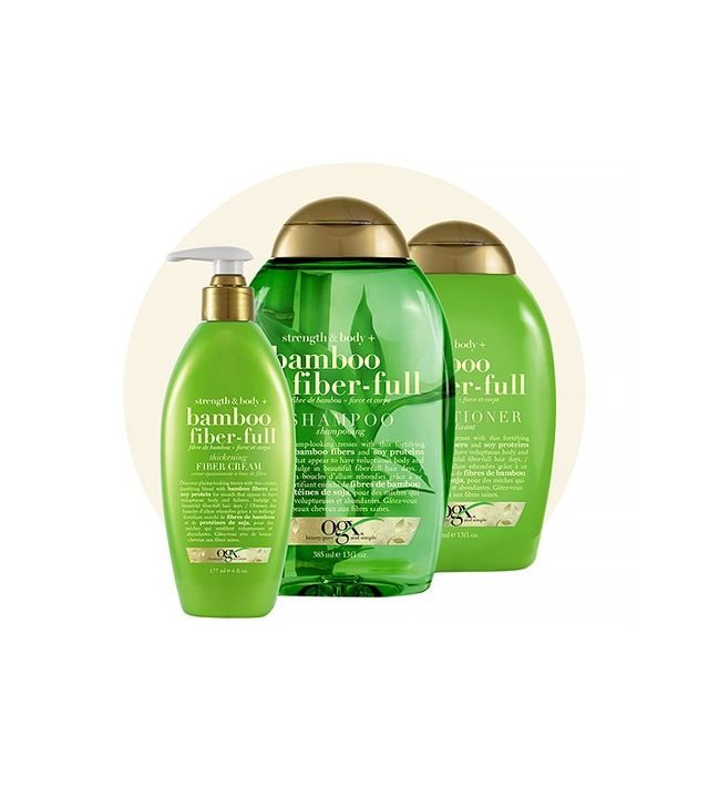 OGX Bamboo Fiber-Full Shampoo, Conditioner, and Root Booster
