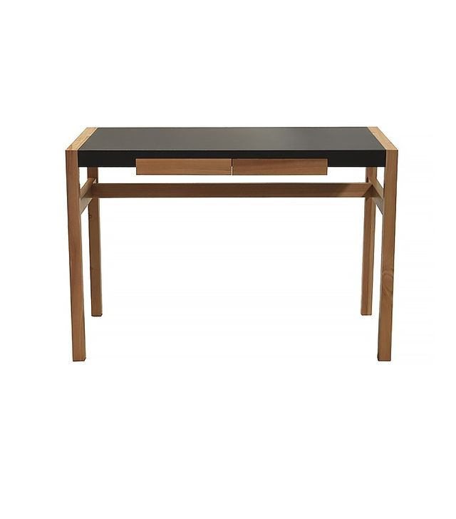 Overstock Rico Deluxe Leather Match Desk